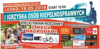 I Igrzyska Osób Niepełnosprawnych i Piknik Rodzinny w Lesku