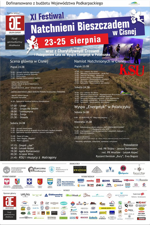 Festiwal Natchnieni Bieszczadem w Cisnej