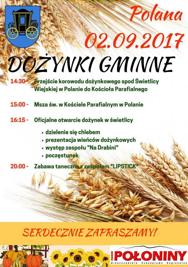 Dożynki Gminne w Polanie
