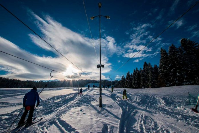 Wyciąg narciarski LeskoSki Weremień w Lesku