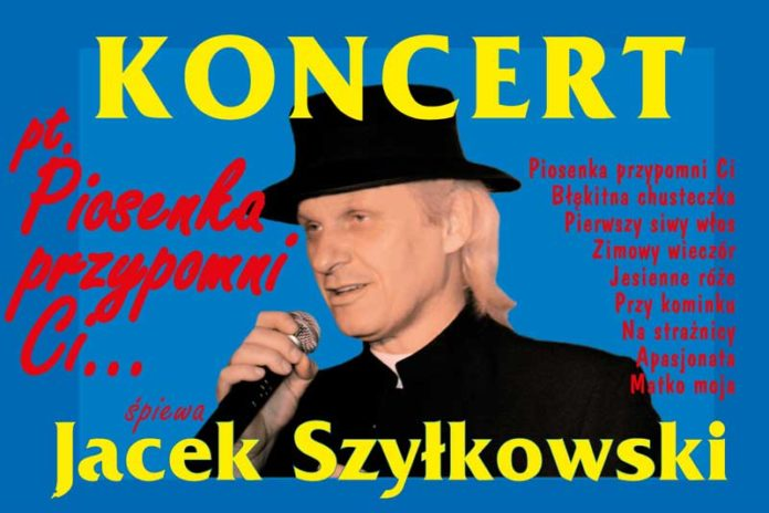Koncert Jacka Szyłkowskiego na Bis w Polańczyku
