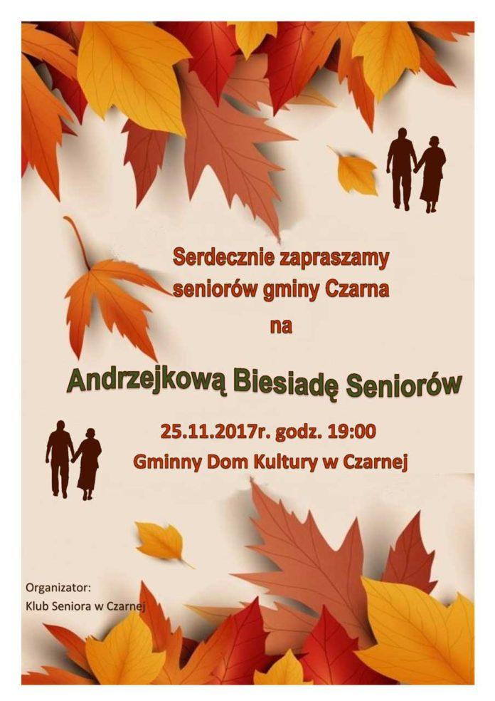 Andrzejkowa Biesiada Seniorów w Czarnej