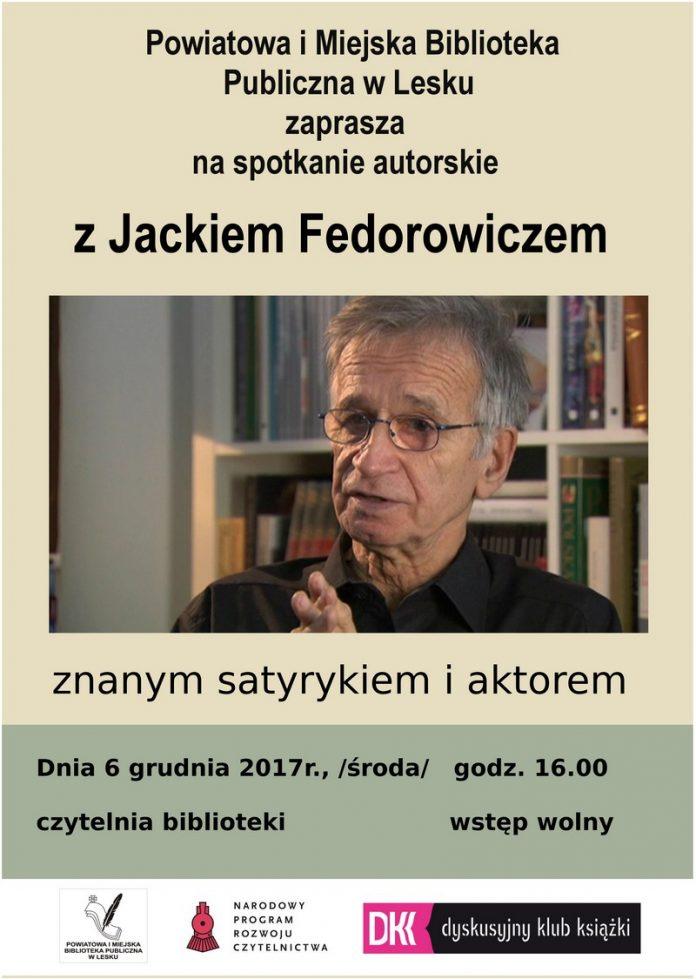 Spotkanie autorskie z Jackiem Fedorowiczem w Lesku