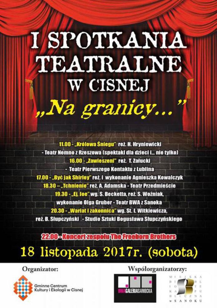 I Spotkania Teatralne w Cisnej