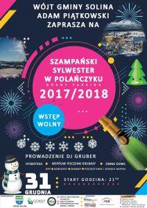 Przywitanie Nowego Roku 2018 - Solina / Polańczyk