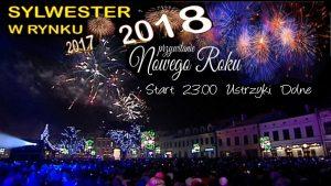 Przywitanie Nowego Roku 2018 – Ustrzyki Dolne