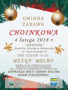 Gminna Zabawa Choinkowa w Polańczyku