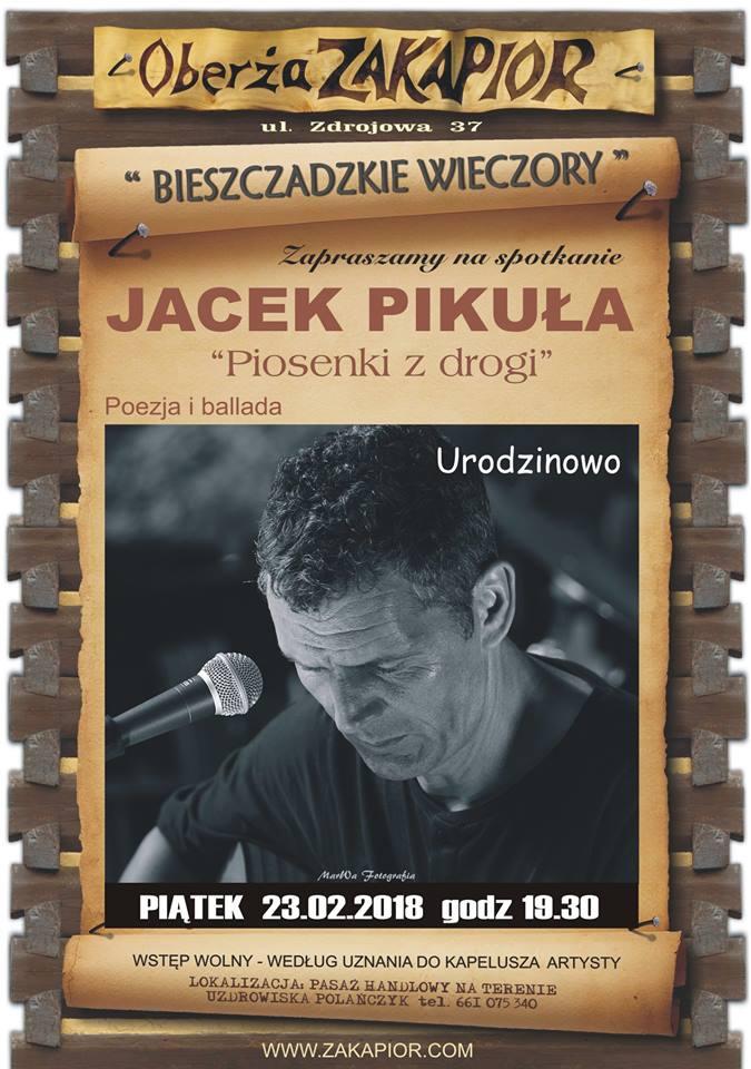 Urodzinowy koncert Jacka Pikuły w Polańczyku