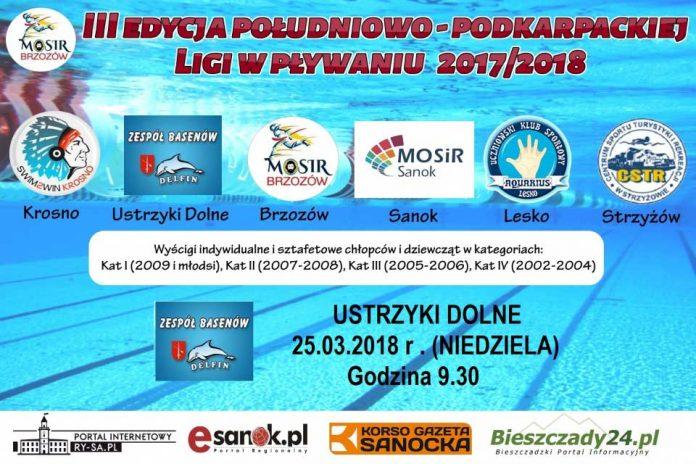 III Edycja Południowo-Podkarpackiej Ligi w Pływaniu