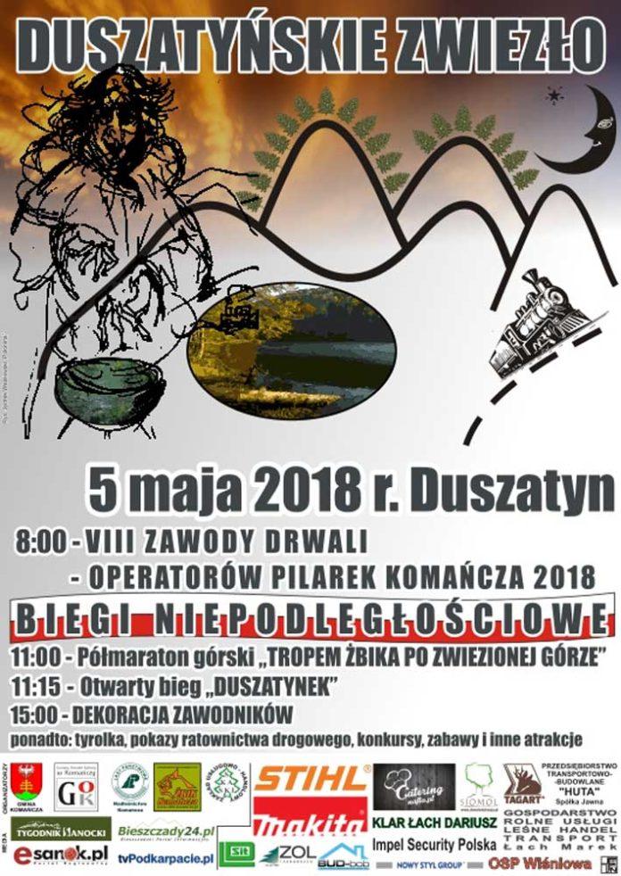 VIII Zawody Drwali - Operatorów Pilarek Komańcza 2018