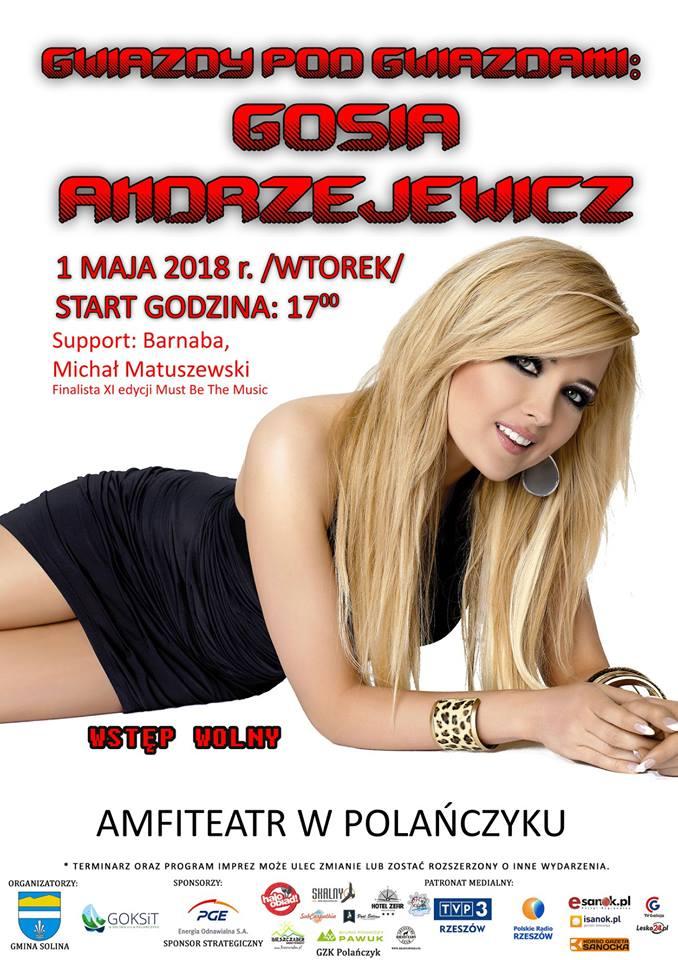 Gosia Andrzejewicz w Polańczyku
