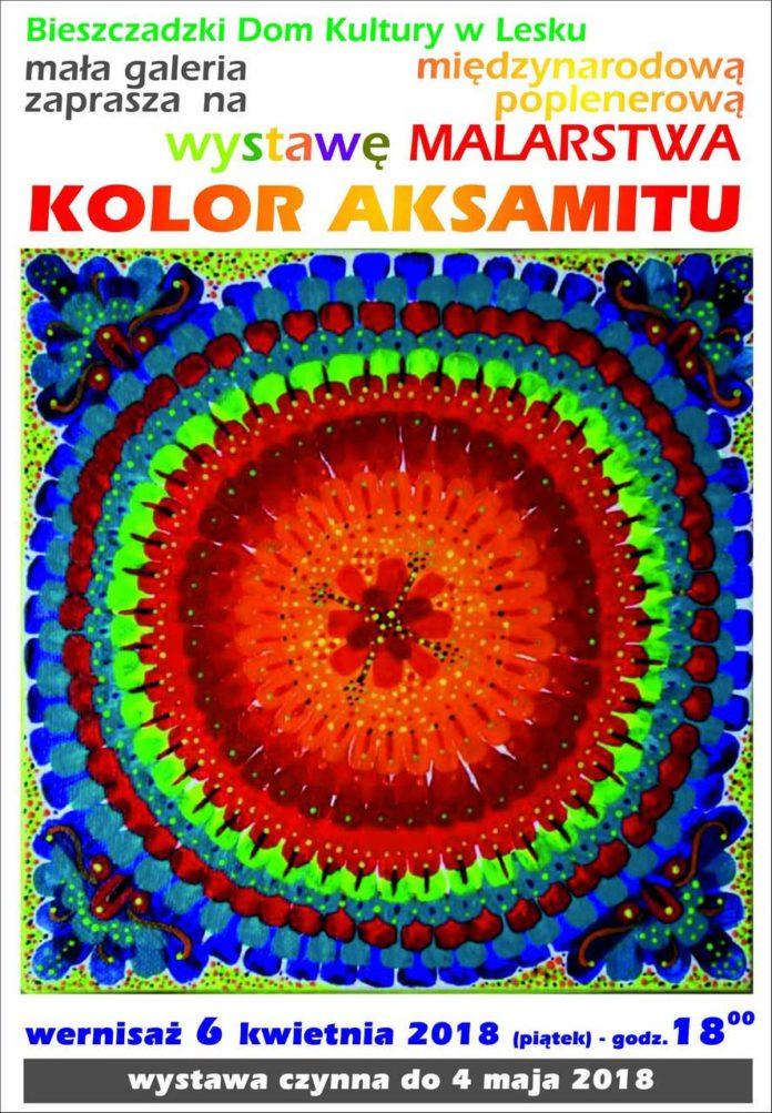 Kolor Aksamitu - wystawa malarstwa w Lesku