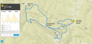 Dwernik Kamień Trail - 21 km
