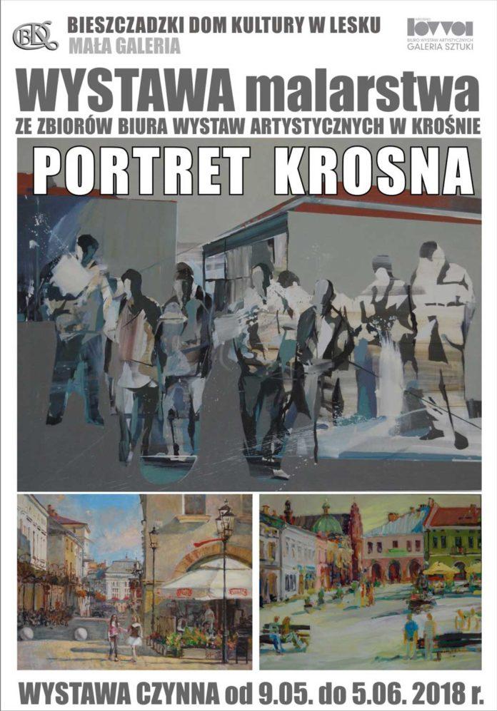 Wystawa malarstwa - Portret Krosna