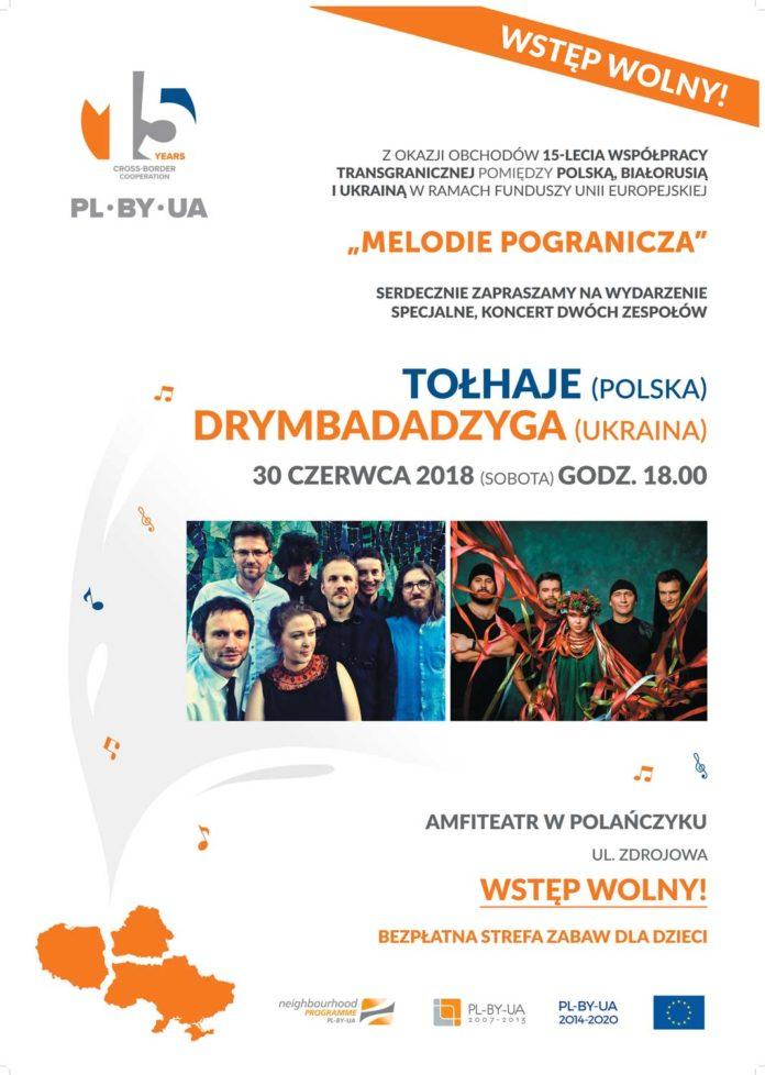 Koncert Melodie Pogranicza w Polańczyku