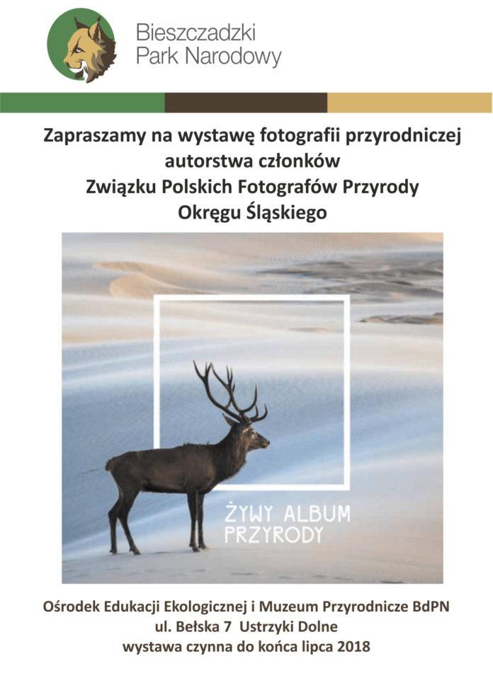 Muzeum Przyrodnicze w Ustrzykach Dolnych zaprasza na wystawę Żywy album przyrody