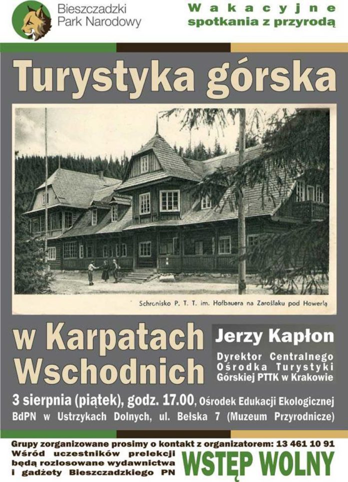 Turystyka górska w Karpatach Wschodnich