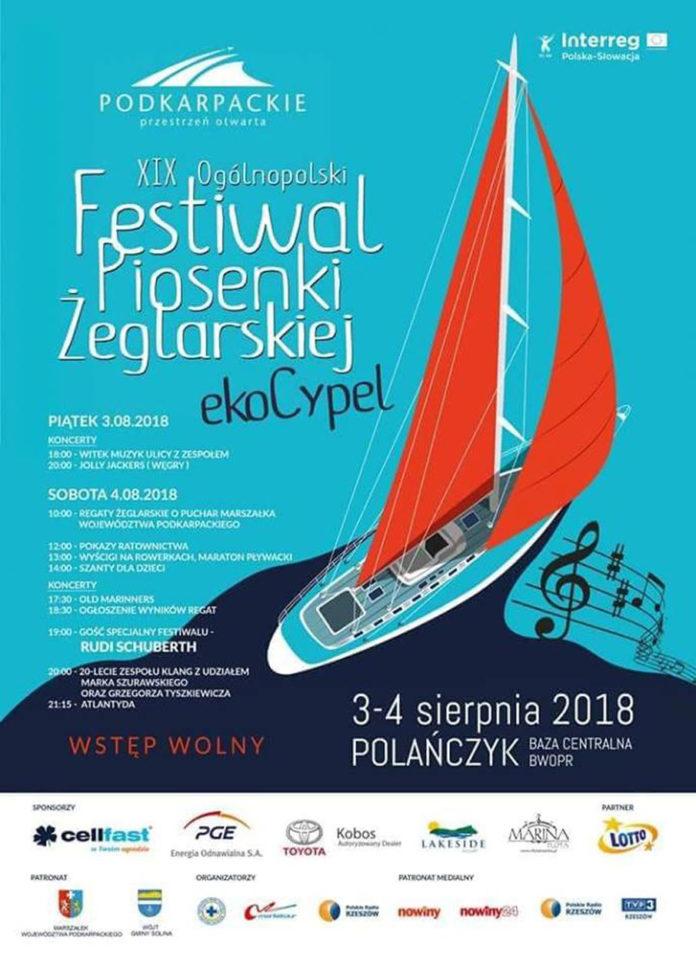Festiwal Piosenki Żeglarskiej EKO CYPEL w Polańczyku