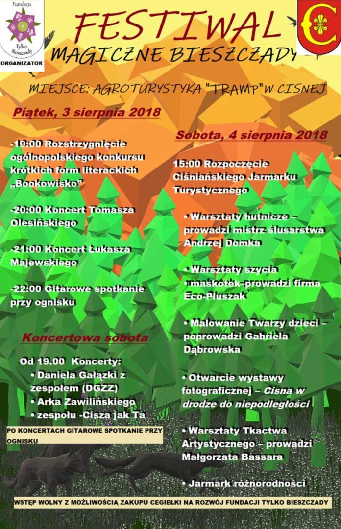 Festiwal Magiczne Bieszczady i Ciśniański Jarmark Turystyczny