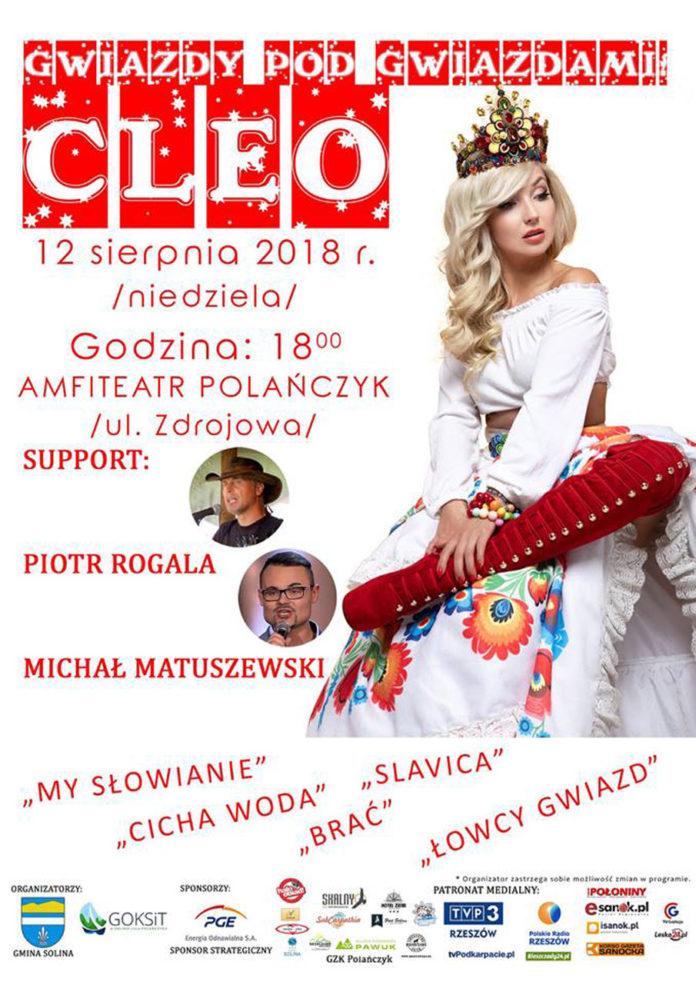 Koncert CLEO w Polańczyku