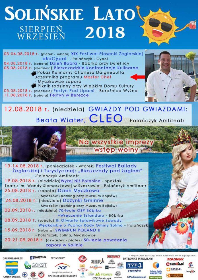 Kontynuacja Solińskiego Lata 2018