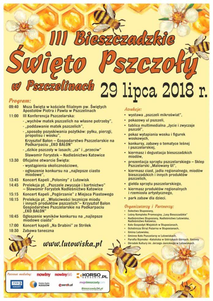 III Bieszczadzkie Święto Pszczoły w Pszczelinach
