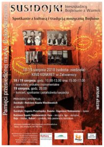 Spotkanie z kulturą i tradycją muzyczną Bojków w Bieszczadach
