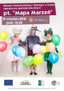 Spektakle dla dzieci w Cisnej