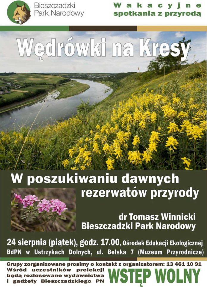 Wędrówki na Kresy. W poszukiwaniu dawnych rezerwatów przyrody.