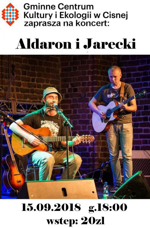 Koncert: Aldaron i Jarecki w Cisnej