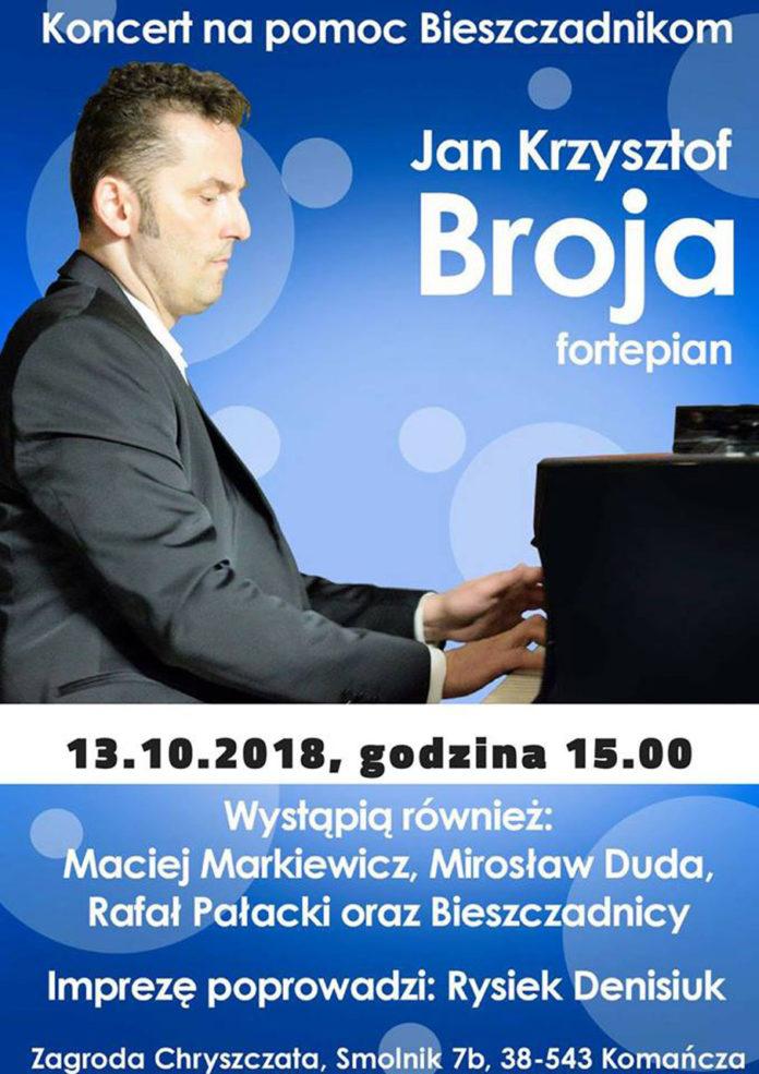 Koncert charytatywny w Zagrodzie Chryszczata w Smolniku