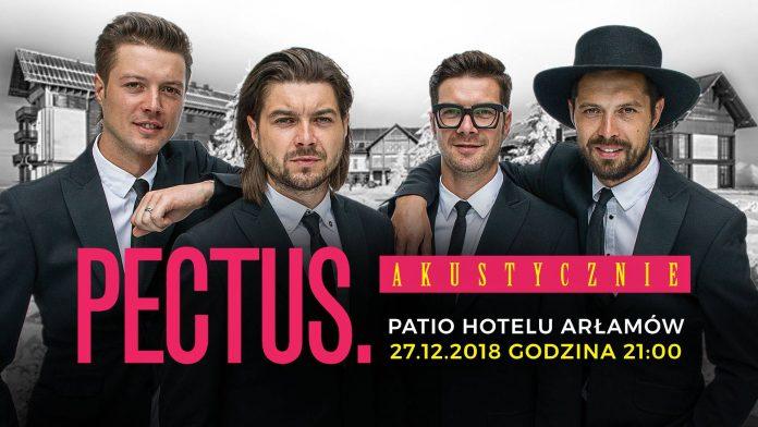 Koncert zespołu PECTUS w Arłamowie