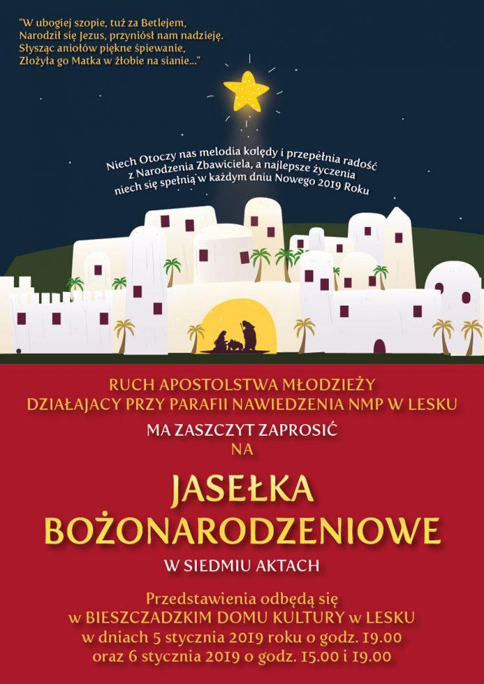 Jasełka Bożonarodzeniowe w Siedmiu Aktach w Lesku