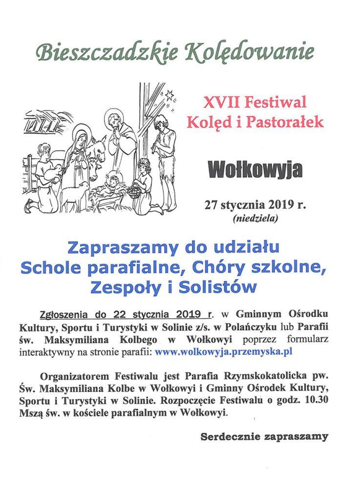 Festiwale Kolęd i Pastorałek w Bieszczadach