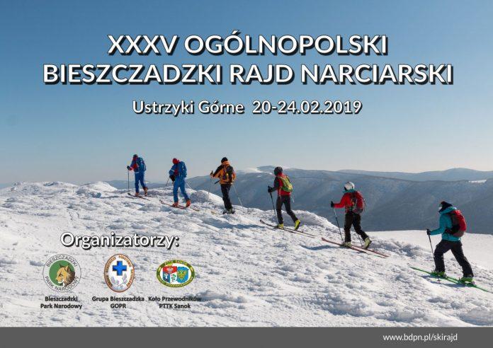 XXXV Jubileuszowy Ogólnopolski Bieszczadzki Rajd Narciarski