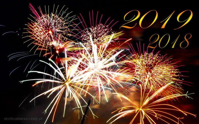 Przywitanie Nowego Roku 2019 w Bieszczadach