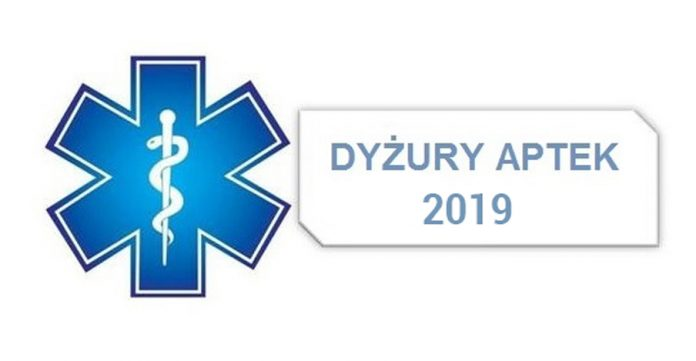 Harmonogramy dyżurów aptek w Bieszczadach w 2019 roku