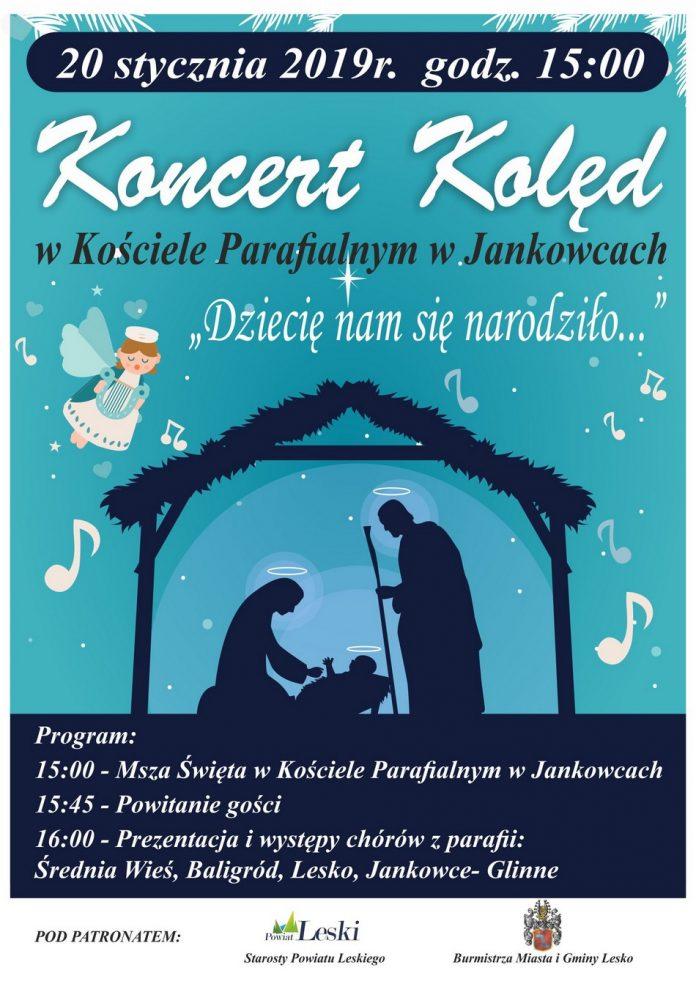 Noworoczny Koncert Kolęd w Jankowcach