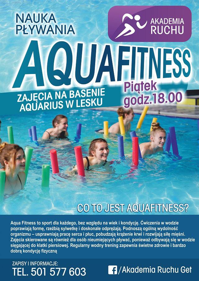Zajęcia fitness na Basenie Aquarius w Lesku