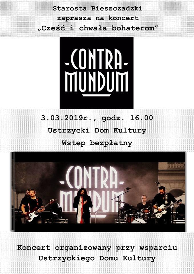 Koncert Zespołu Contra Mundum w Ustrzykach Dolnych