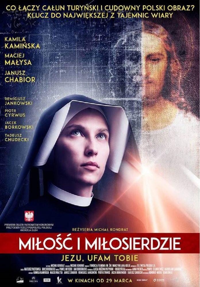 """Kino """"Orzeł"""" Ustrzyki Dolne: MIŁOŚĆ I MIŁOSIERDZIE – Seanse: 14.04.2019 r."""