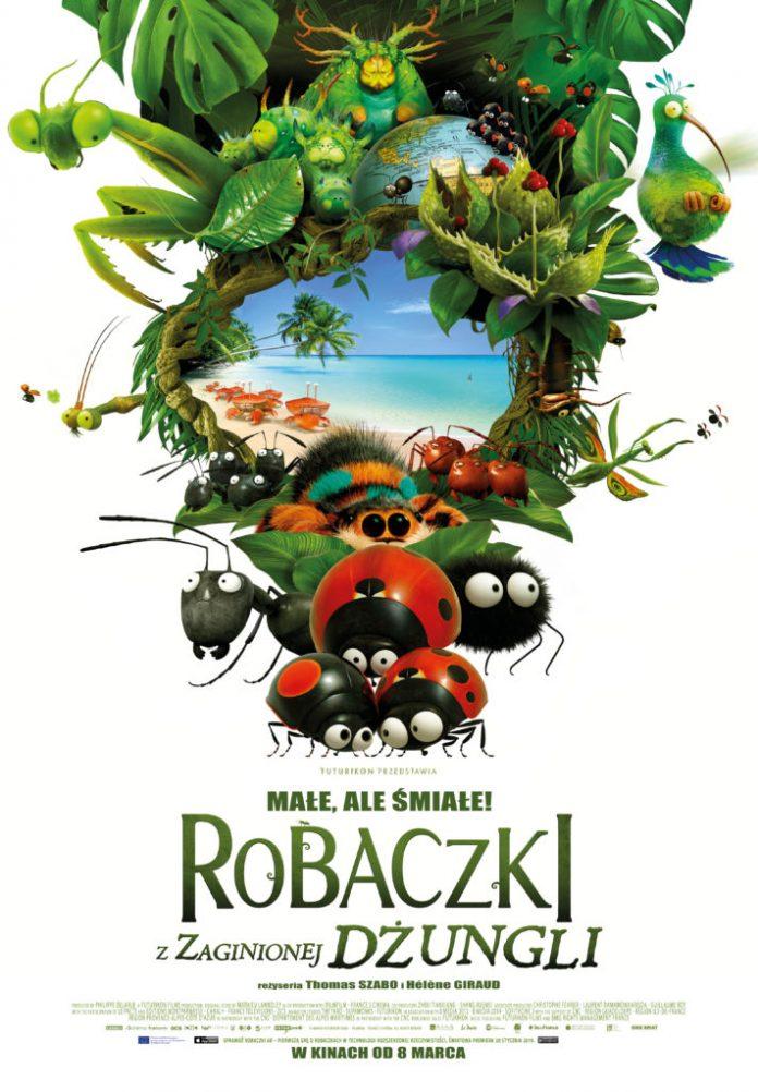 """Kino """"Orzeł"""" Ustrzyki Dolne: ROBACZKI Z ZAGINIONEJ DŻUNGLI – Seanse: 12,13 kwiecień 2019 r."""