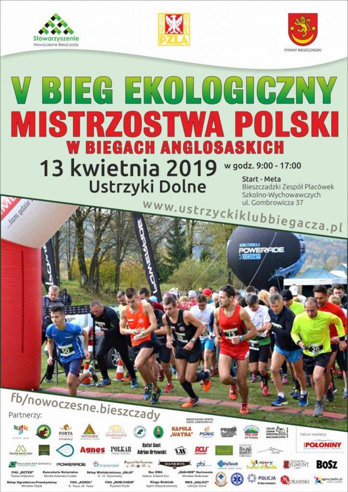Mistrzostwa Polski w biegach anglosaskich i V Bieg Ekologiczny w Ustrzykach Dolnych