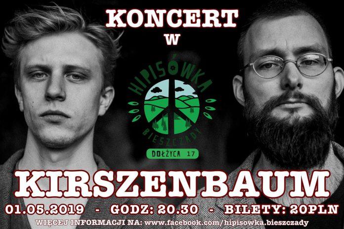 Koncerty zespołów Kirszenbaum i Zielony Bus Band w Hipisówce w Dołżycy